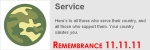 Foursquare Remembers and Appreciates Veterans 11.11.11